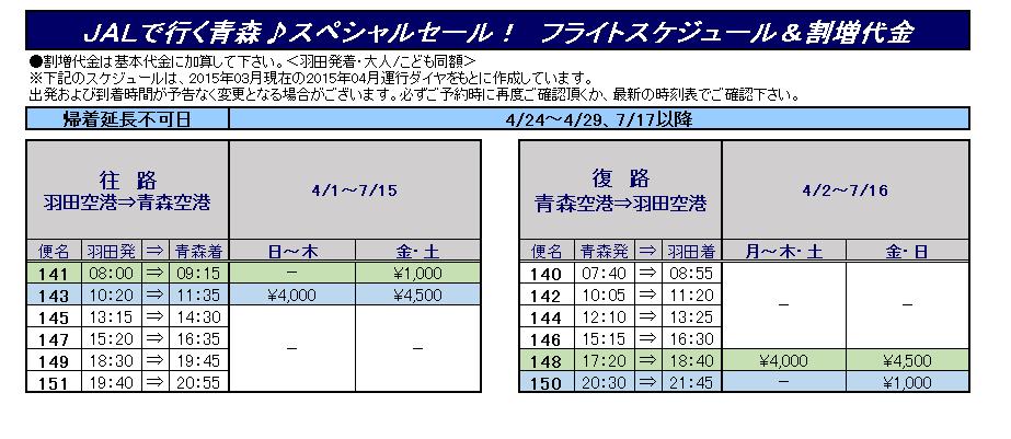 OEM2015青森フライト